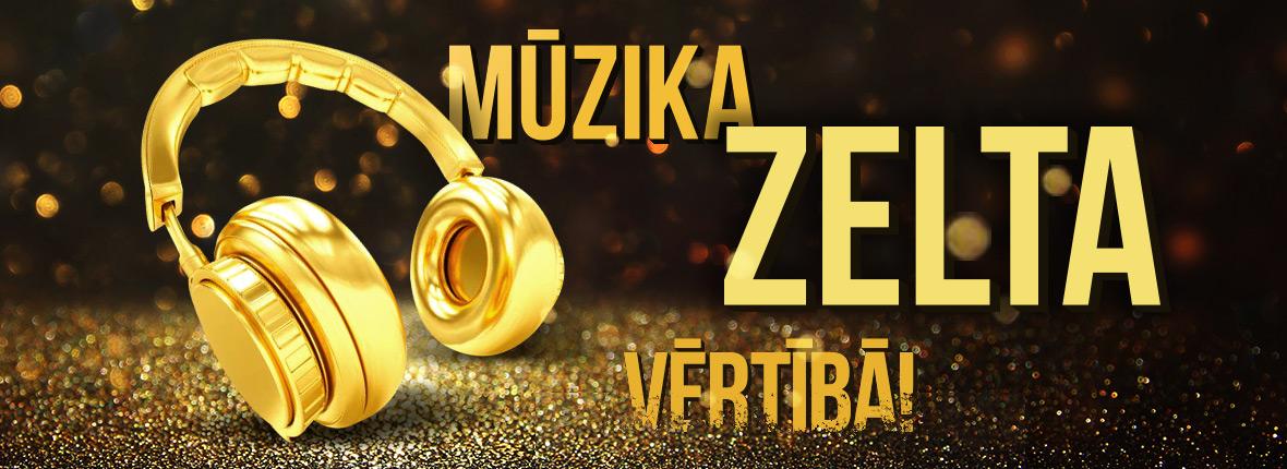 Mūzika zelta vērtībā!
